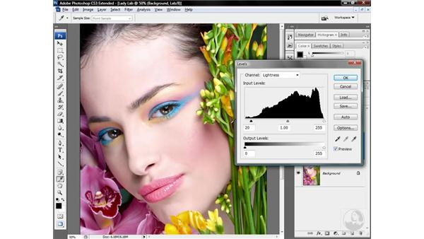 Making a great image even better in Lab: Photoshop CS3 Mastering Lab Color