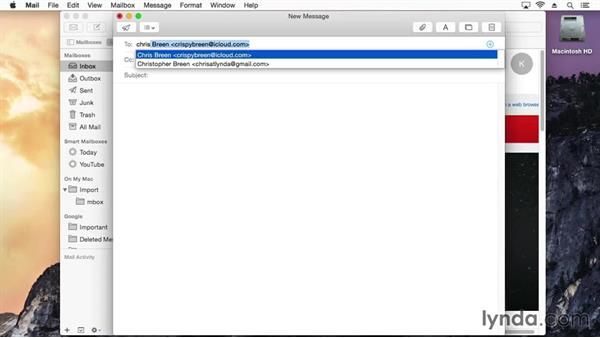 How to remove old autofilled email recipients: Mac OS X Yosemite Tips and Tricks