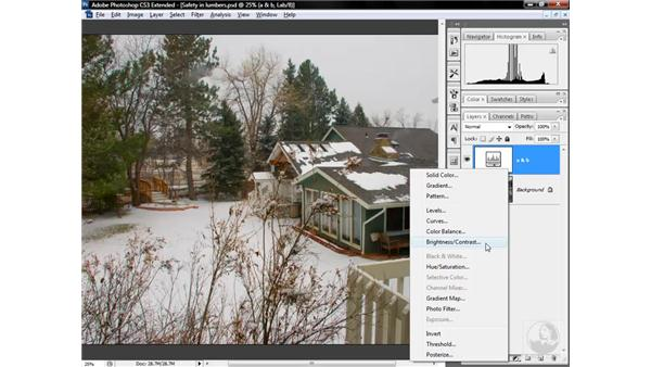 The secret power of Brightness/Contrast in Lab: Photoshop CS3 Mastering Lab Color
