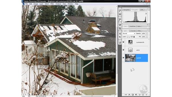 Smart Objects and sharpening: Photoshop CS3 Mastering Lab Color