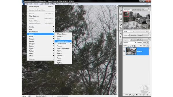 Fixing chromatic aberrations in RGB: Photoshop CS3 Mastering Lab Color