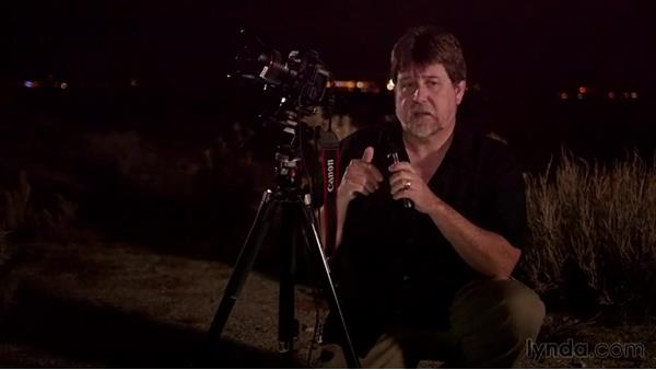 Using a fill light to paint at night: Photographing the Night Landscape
