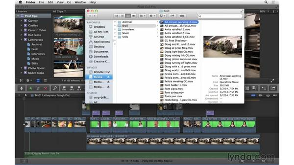 Match Frames and more in FCP X: Video Post Tips Weekly