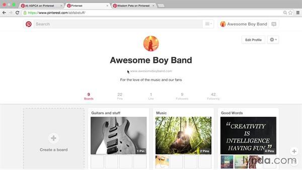 Verifying a URL: Pinterest for Business