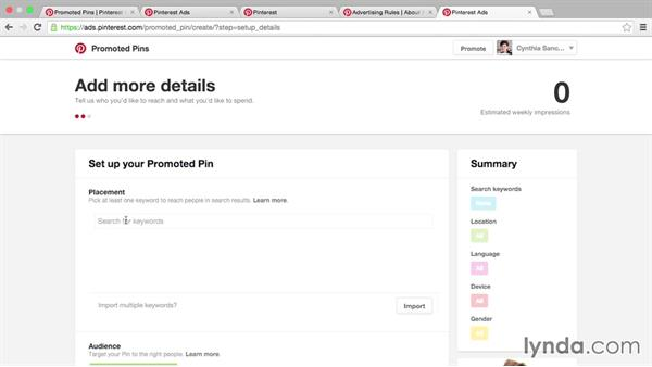 Advertising on Pinterest with Promoted Pins: Pinterest for Business