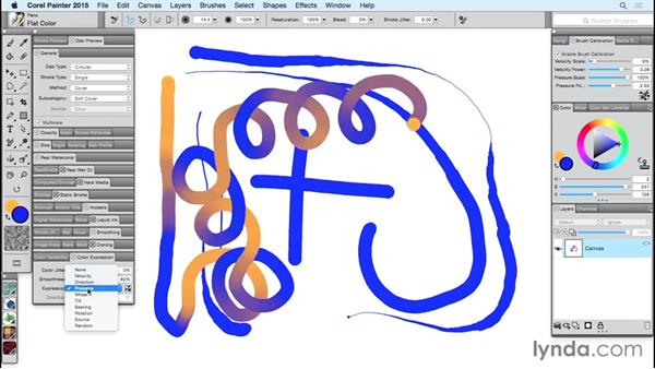 Finding where Painter controls each of the axes: Using Wacom Tablets with Painter