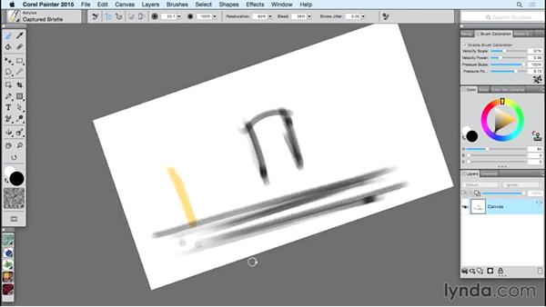 Assigning functions to the Touch Ring: Using Wacom Tablets with Painter