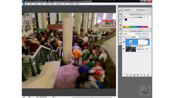 Restoring neutral highlights: Photoshop CS3 Mastering Lab Color