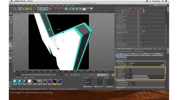eyedesyn's Text Edge Pro: Creating Flying Logos with After Effects and CINEMA 4D Lite