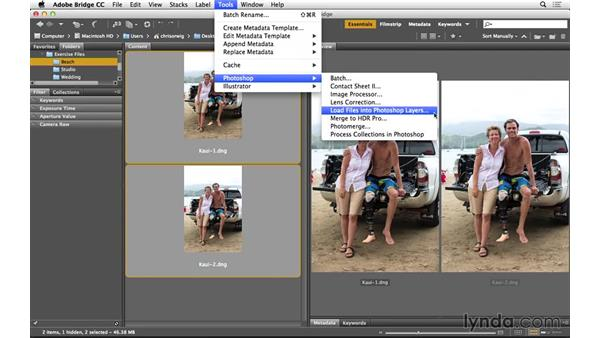 Aligning layers in Photoshop: Portrait Project: Fixing a Group Photo