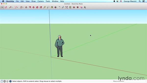 Keyboard shortcuts on the Mac: SketchUp 2015 Essential Training