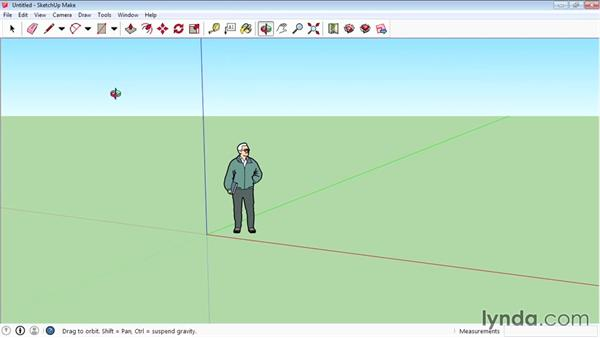 Interface basics: SketchUp 2015 Essential Training