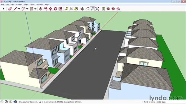 Navigating in SketchUp: SketchUp 2015 Essential Training