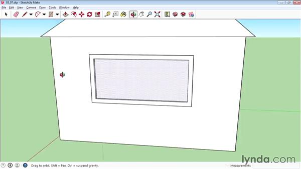 Using the Offset tool to create outlines: SketchUp 2015 Essential Training