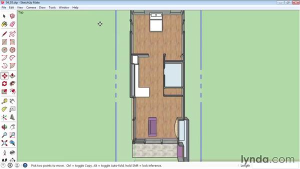 Creating sections: SketchUp 2015 Essential Training