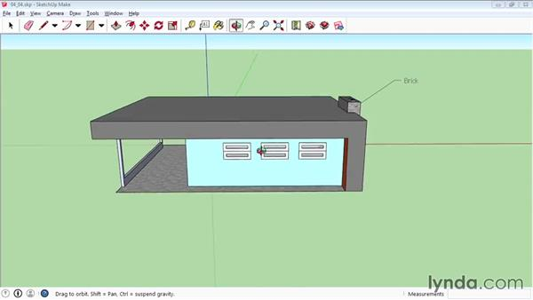 Creating labels: SketchUp 2015 Essential Training