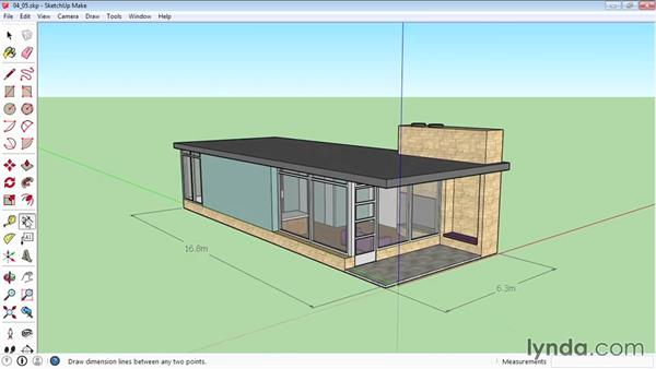 Dimensioning: SketchUp 2015 Essential Training