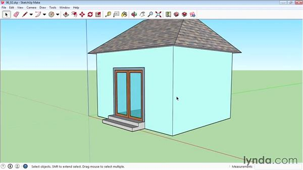 Creating components: SketchUp 2015 Essential Training