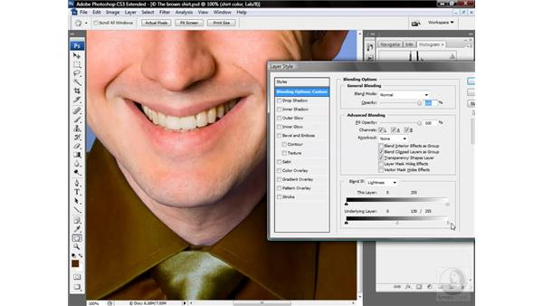 Revealing complementary highlights: Photoshop CS3 Mastering Lab Color