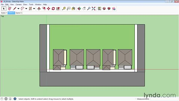 Basic animation: SketchUp 2015 Essential Training
