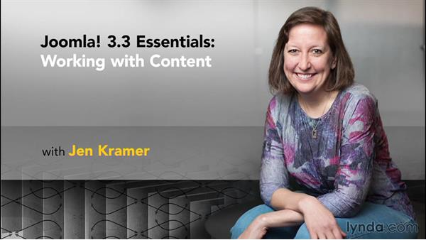 Goodbye and next steps: Joomla! 3.3 Essentials: Working with Content