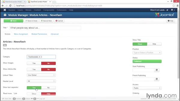 Welcome: Joomla! 3.3 Essentials: Modules, Components, Extensions, and Templates