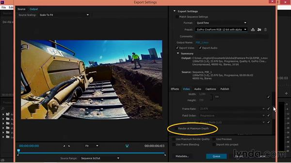 Improved CineForm export: Premiere Pro: Creative Cloud Updates