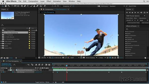 Creating basic time remapping: After Effects Guru: Time-Based Effects