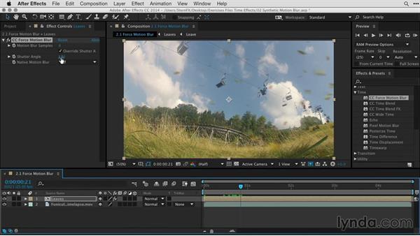 Understanding CC Force Motion Blur vs. Pixel Motion Blur: After Effects Guru: Time-Based Effects