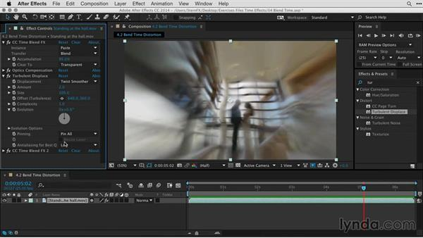 After effects warp