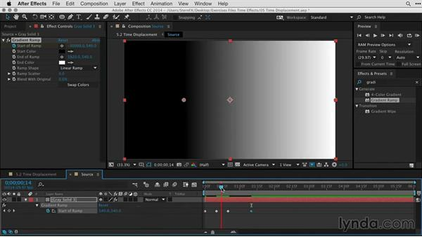 Designing opening titles based on the Time Displacement effect: After Effects Guru: Time-Based Effects