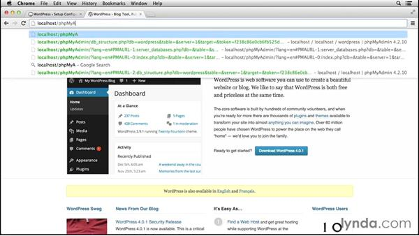 Setting up additional WordPress sites under MAMP: Installing and Running WordPress: MAMP