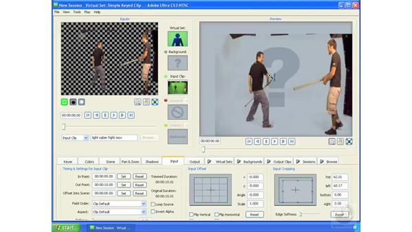 Masking out precise areas in footage: Ultra CS3 Essential Training