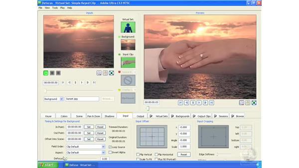 Defocusing a subject or background: Ultra CS3 Essential Training