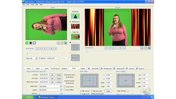 Creating HD projects with SD footage: Ultra CS3 Essential Training
