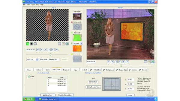 Animating the virtual camera: Ultra CS3 Essential Training
