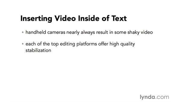Introduction to stabilizing shaky footage: Video Post Tips Weekly