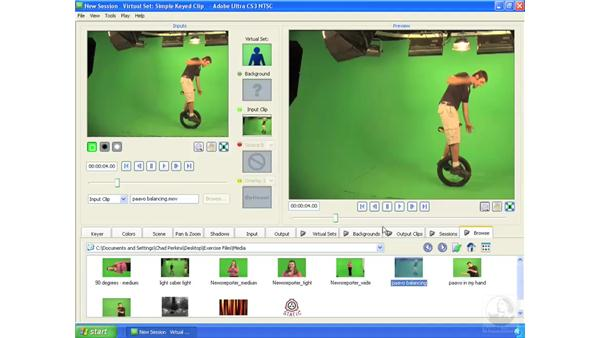 Working with audio: Ultra CS3 Essential Training