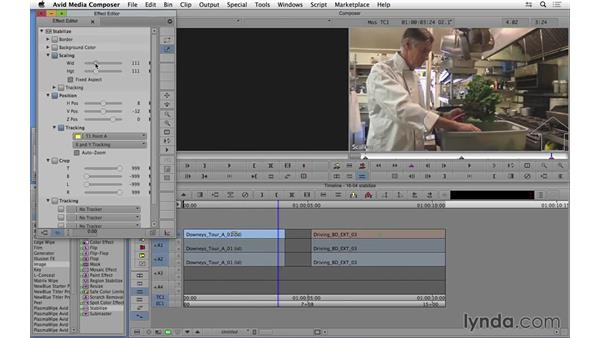 Stabilizing shaky footage in Avid Media Composer: Video Post Tips Weekly