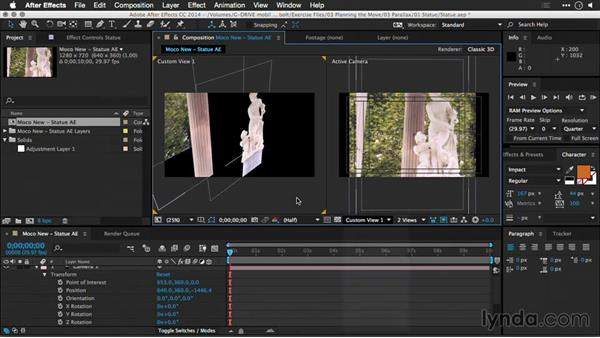 Understanding parallax: Motion Control 3D: Bringing Your Photos to Life in Three Dimensions with Photoshop and After Effects CC