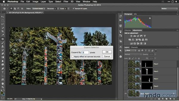 Filling in the holes: Content-Aware Fill: Motion Control 3D: Bringing Your Photos to Life in Three Dimensions with Photoshop and After Effects CC