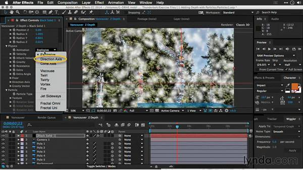 Using After Effects particles: Motion Control 3D: Bringing Your Photos to Life in Three Dimensions with Photoshop and After Effects CC