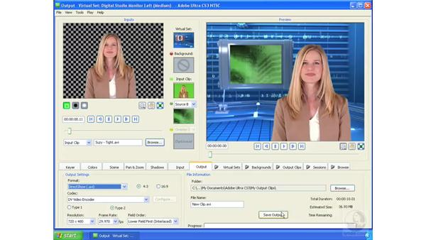 Exporting video and image sequences: Ultra CS3 Essential Training