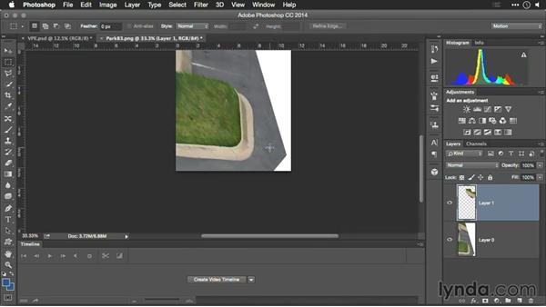 Extending surfaces and adding texture: Motion Control 3D: Bringing Your Photos to Life in Three Dimensions with Photoshop and After Effects CC