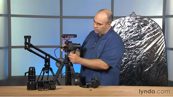 Ports and connections: Up and Running with Micro Four-Thirds Cameras