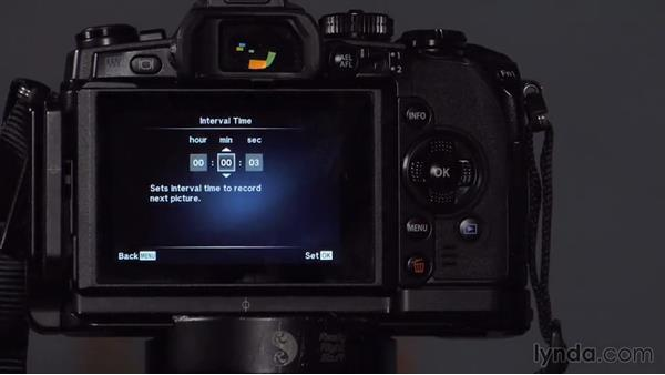 Shooting time lapse: Up and Running with Micro Four-Thirds Cameras