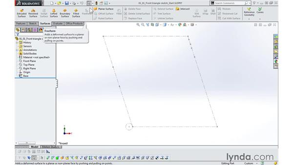 Requirements: Modeling a Bicycle Frame with SOLIDWORKS