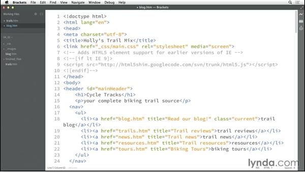 Writing comments: HTML5: Structure, Syntax, and Semantics