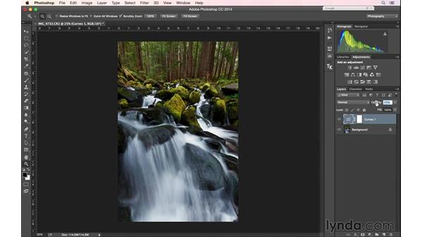 Applying a recipe to the post work on an image: Landscape Photography: Washington's Olympic National Park
