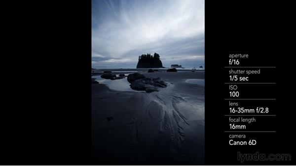 Shooting water channels in the foreground: Landscape Photography: Washington's Olympic National Park